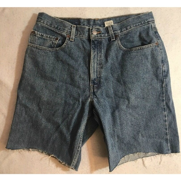 c0460bd8 Levi's Shorts | Vtg 90s Levi 550 Mens Relaxed Fit Denim 34 | Poshmark